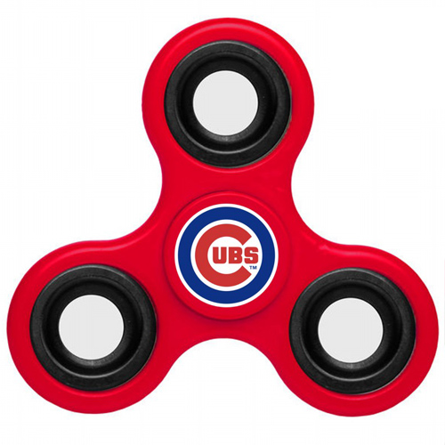 MLB Chicago Cubs 3 Way Fidget Spinner A44 - Red
