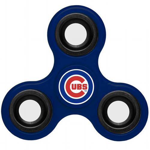 MLB Chicago Cubs 3 Way Fidget Spinner F44 - Royal