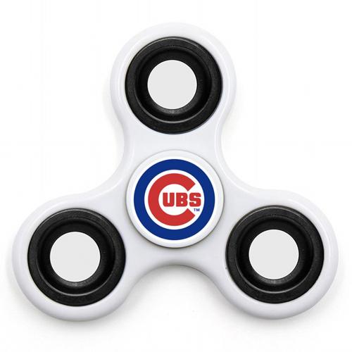 MLB Chicago Cubs 3 Way Fidget Spinner I44 - White