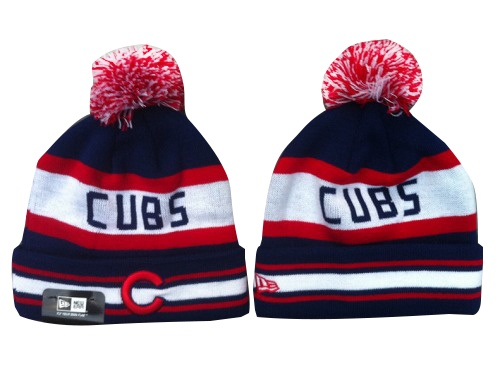 MLB Chicago Cubs Stitched Knit Beanies 009