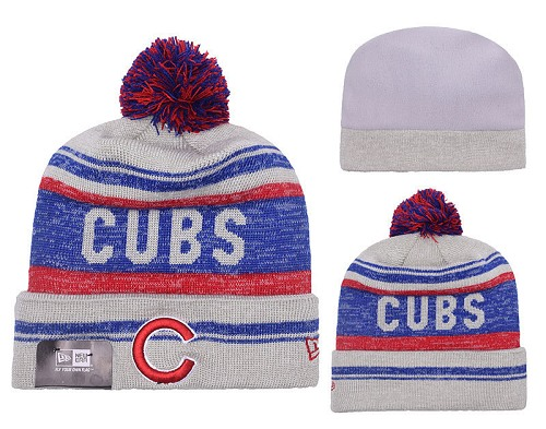 MLB Chicago Cubs Stitched Knit Beanies 010