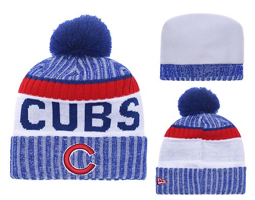 MLB Chicago Cubs Stitched Knit Beanies 011