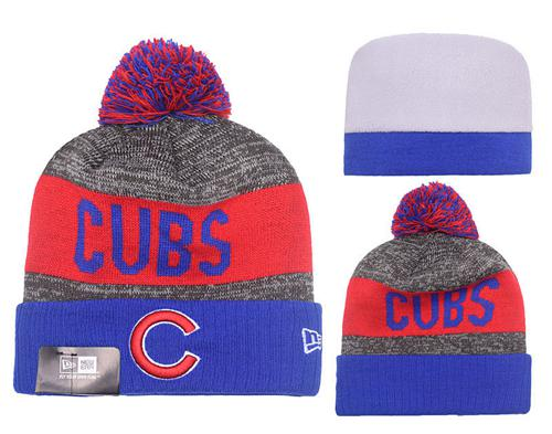 MLB Chicago Cubs Stitched Knit Beanies 012