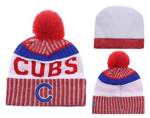 MLB Chicago Cubs Stitched Knit Beanies 013