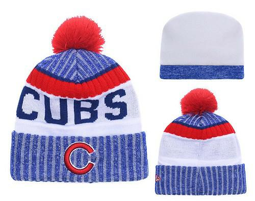 MLB Chicago Cubs Stitched Knit Beanies 015