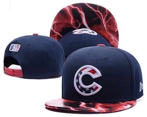 MLB Chicago Cubs Stitched Snapback Hats 004