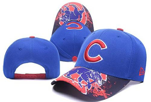 MLB Chicago Cubs Stitched Snapback Hats 005