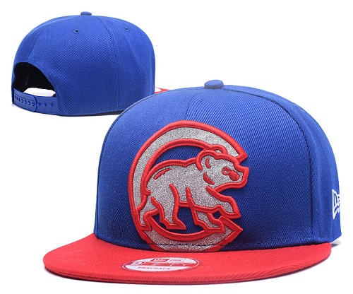 MLB Chicago Cubs Stitched Snapback Hats 007