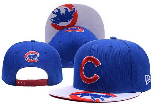 MLB Chicago Cubs Stitched Snapback Hats 019