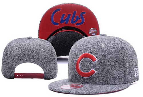 MLB Chicago Cubs Stitched Snapback Hats 020