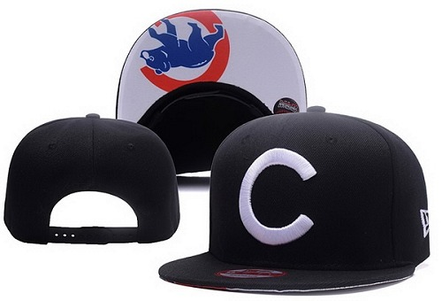 MLB Chicago Cubs Stitched Snapback Hats 021