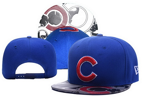 MLB Chicago Cubs Stitched Snapback Hats 023