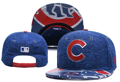 MLB Chicago Cubs Stitched Snapback Hats 024
