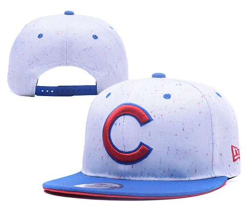 MLB Chicago Cubs Stitched Snapback Hats 027