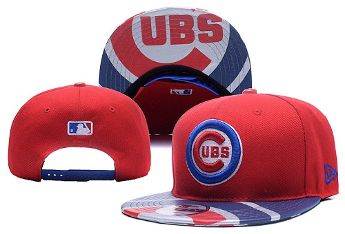 MLB Chicago Cubs Stitched Snapback Hats 028