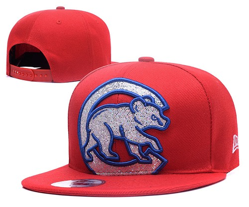 MLB Chicago Cubs Stitched Snapback Hats 030
