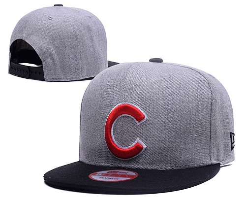 MLB Chicago Cubs Stitched Snapback Hats 031