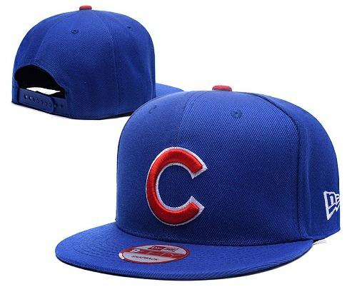 MLB Chicago Cubs Stitched Snapback Hats 032