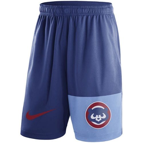 MLB Men's Chicago Cubs Nike Royal Cooperstown Collection Dry Fly Shorts