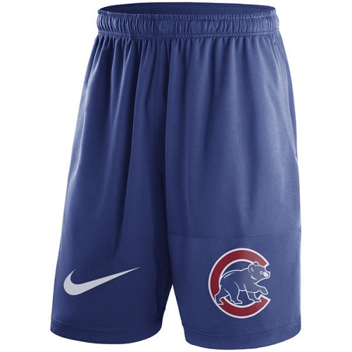 MLB Men's Chicago Cubs Nike Royal Dry Fly Shorts