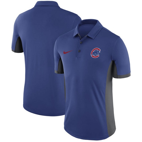 MLB Men's Chicago Cubs Nike Royal Franchise Polo T-Shirt